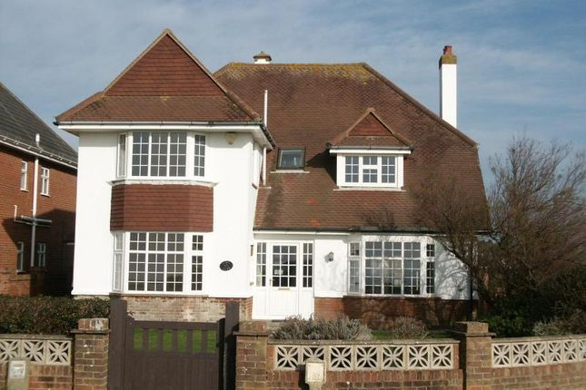 Thumbnail Detached house to rent in Marine Drive East, Barton On Sea, New Milton