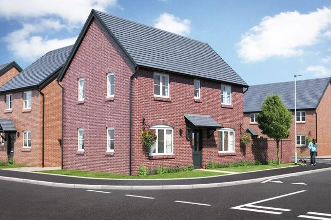 Thumbnail Detached house for sale in Plot 22, Phase 2 Hopton Park, Nesscliffe, Shrewsbury