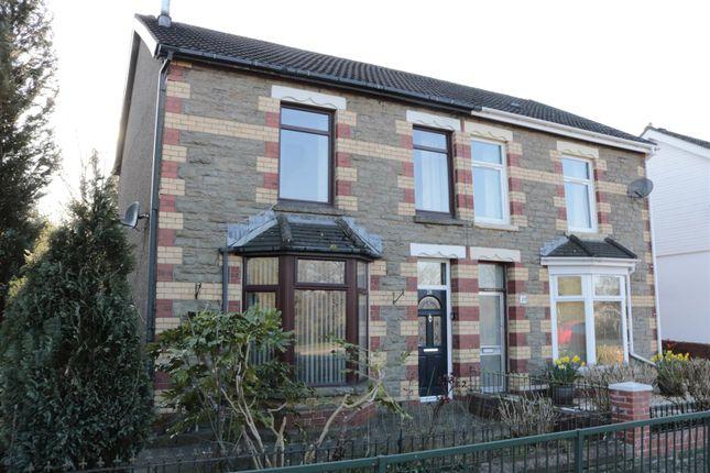 Thumbnail Semi-detached house for sale in Blackwood Road, Pontllanfraith, Blackwood
