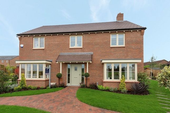 Thumbnail Detached house for sale in Plot 26, Heathcote Grange, Leicester Lane, Great Bowden, Leicestershire