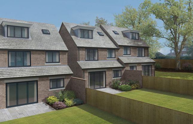 Thumbnail Detached house for sale in The Spinney, Pulborough