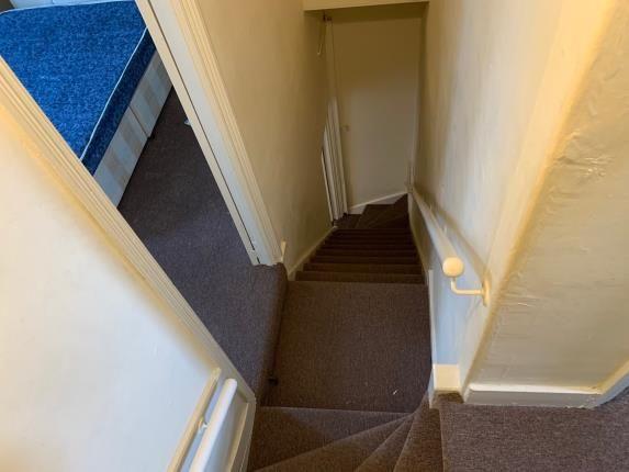Staircase of Blenheim Road, London E17