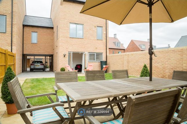 Thumbnail Semi-detached house to rent in Huntsman Road, Trumpington, Cambridge