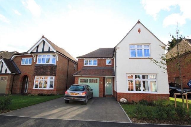 Thumbnail Detached house to rent in Jopling Road, Bisley, Woking