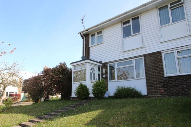 Thumbnail Semi-detached house to rent in Ashdown Way, Romsey