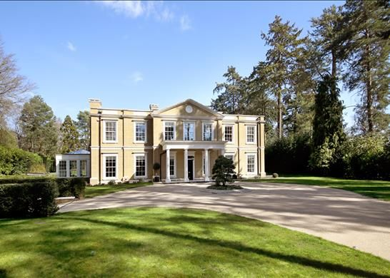 Thumbnail Detached house for sale in Lake Road, Virginia Water, Surrey