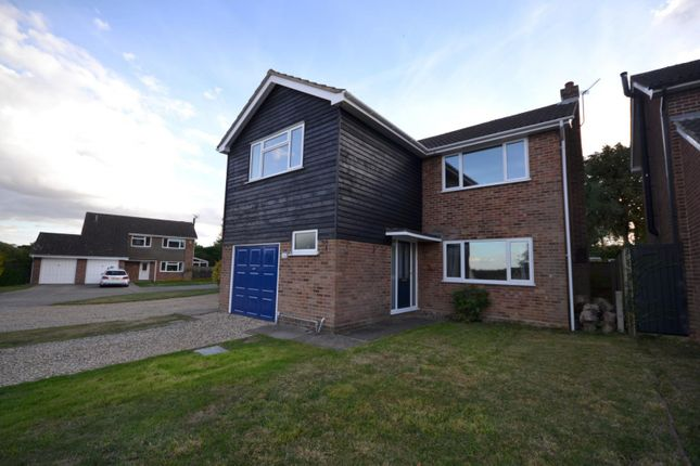 Thumbnail Detached house to rent in Heathfields, Eight Ash Green, Colchester