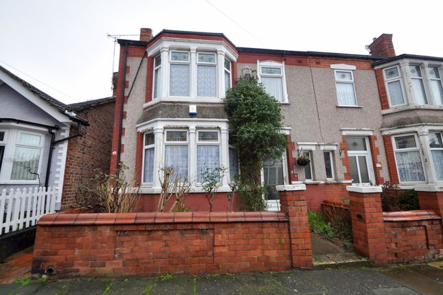 Thumbnail Semi-detached house for sale in Bernard Avenue, New Brighton, Wallasey
