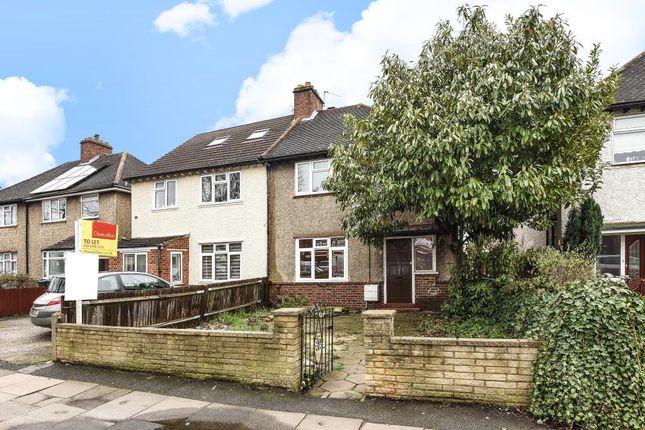 Thumbnail Semi-detached house to rent in Cambridge Road, Kingston