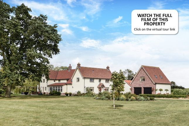 Thumbnail Detached house for sale in High London Lane, Winfarthing, Diss