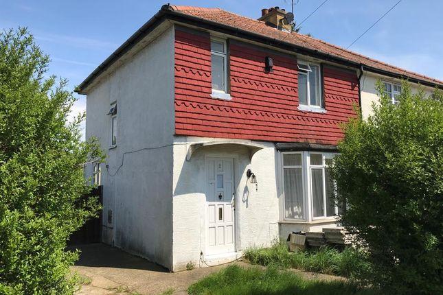 Thumbnail Semi-detached house for sale in 2 Stapleton Gardens, Croydon, Surrey