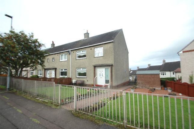 Thumbnail End terrace house for sale in Crown Street, Calderbank, Airdrie
