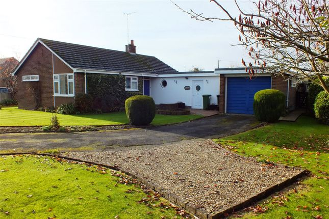Thumbnail Detached bungalow for sale in West Side, North Littleton, Evesham, Worcestershire