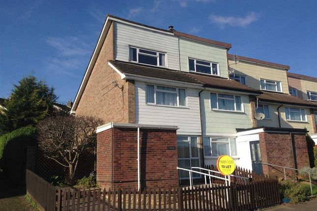 Thumbnail End terrace house to rent in Middle Way, Bulwark, Chepstow