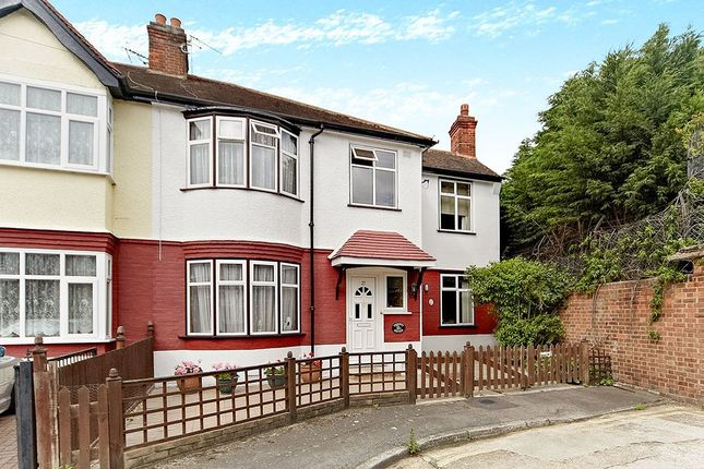 Thumbnail Semi-detached house for sale in Queen Annes Gardens, Mitcham