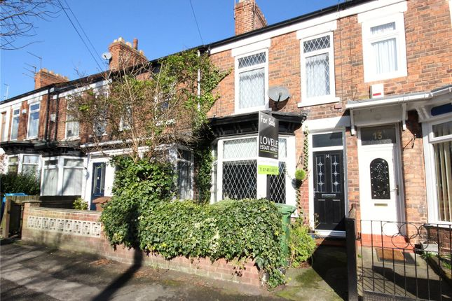 Thumbnail Terraced house for sale in Westbourne Grove, Hessle