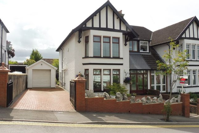 Thumbnail Semi-detached house for sale in The Grove, Merthyr Tydfil