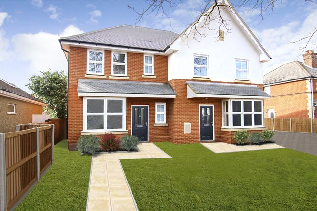 Thumbnail Semi-detached house for sale in New Haw, Surrey