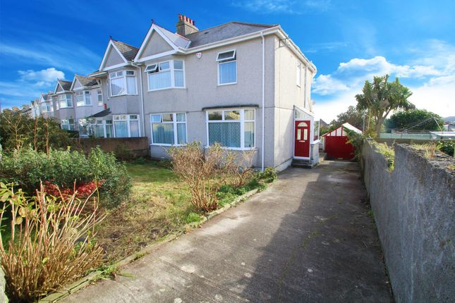 Thumbnail Semi-detached house for sale in North Down Road, Beacon Park, Plymouth