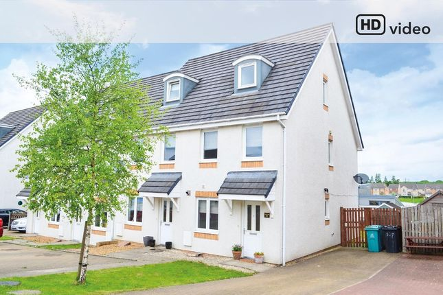 Thumbnail Town house for sale in Crofton Wynd, Airdrie