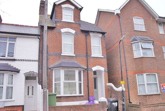 Thumbnail End terrace house to rent in Gordon Road, Canterbury