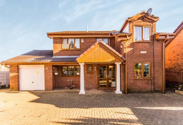 Thumbnail Detached house for sale in Bridge Close, Radcliffe, Greater Manchester