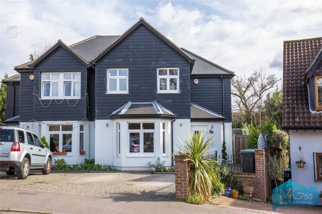 Thumbnail Semi-detached house for sale in Postern Green, Enfield, Middlesex