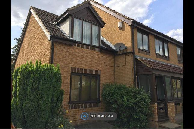 Thumbnail End terrace house to rent in Merganser Gardens, London