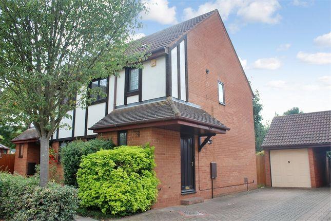 Thumbnail Semi-detached house to rent in Longhedge, Caldecotte, Milton Keynes