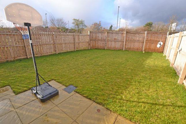 Rear Garden of Merlay Court, Killingworth, Newcastle Upon Tyne NE12
