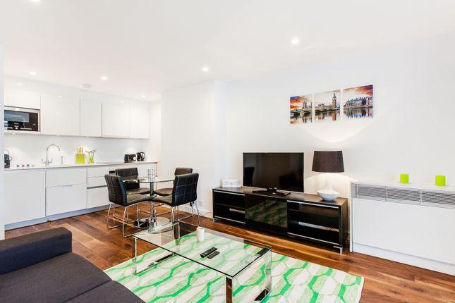 Thumbnail Flat to rent in Newman Street, London