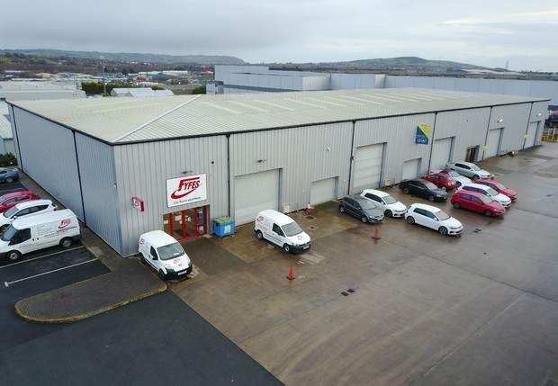 Thumbnail Warehouse to let in Blackwater Business Park, Mallusk, Newtownabbey, County Antrim