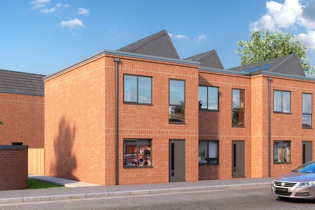 Thumbnail Town house for sale in Wheatsheaf Way, Leicester