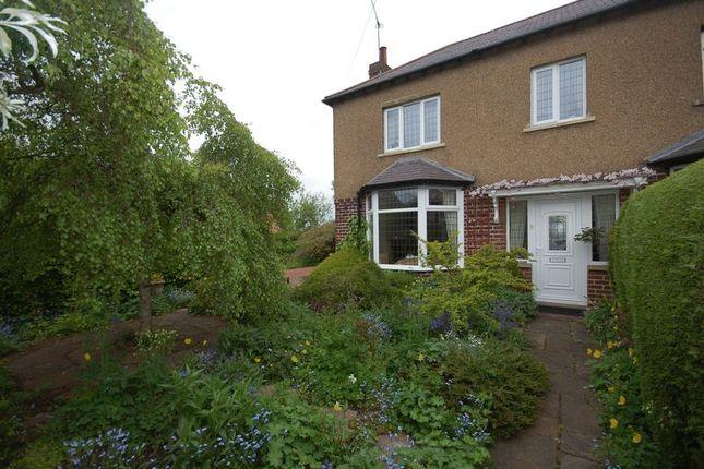 Thumbnail Semi-detached house for sale in Bridge End, Stamfordham, Newcastle Upon Tyne