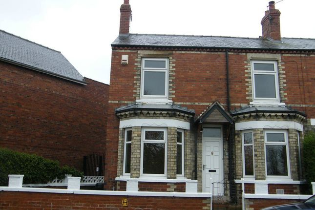 Thumbnail Terraced house to rent in Knavesmire Crescent, York, North Yorkshire