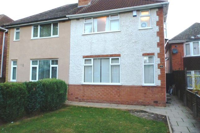 Thumbnail Semi-detached house to rent in Normanton Avenue, Sheldon, Birmingham