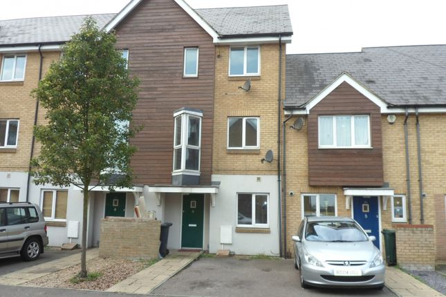 Thumbnail Town house for sale in Robinson Way, Gravesend, Kent
