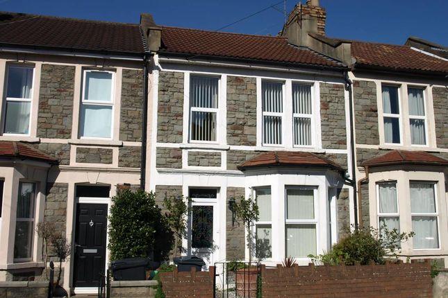 Thumbnail Terraced house to rent in Sandhurst Road, Brislington, Bristol