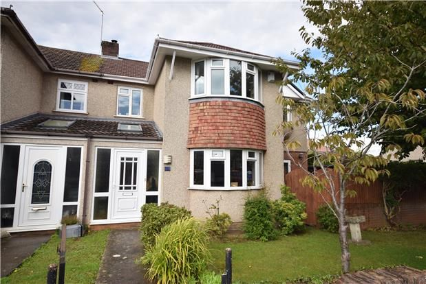 Thumbnail Semi-detached house for sale in Bromley Heath Avenue, Downend, Bristol