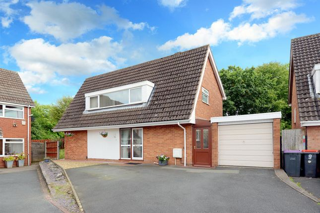 Thumbnail Detached house for sale in Linley Drive, Stirchley, Telford