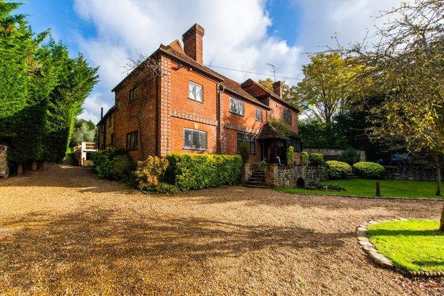 Thumbnail Detached house for sale in Woodhill Lane, Shamley Green, Guildford