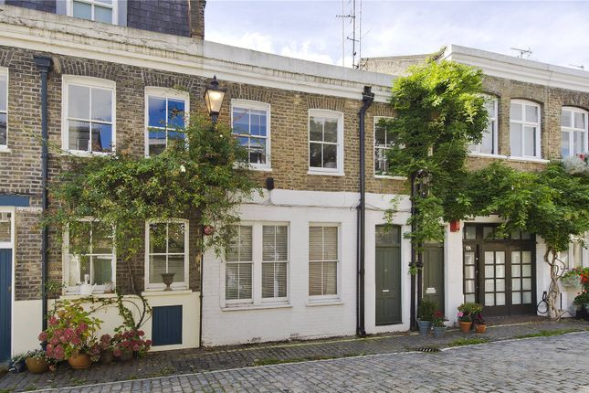 Thumbnail Mews house to rent in Pindock Mews, London
