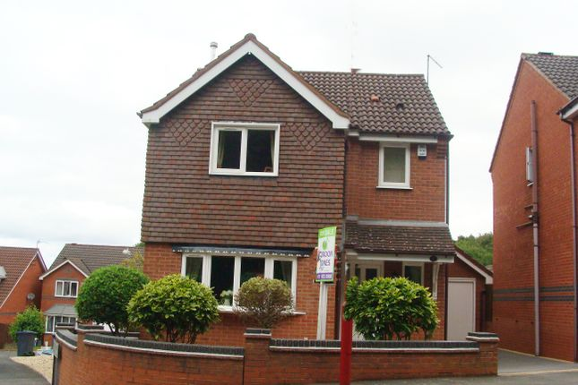 Thumbnail Detached house for sale in Eachway Lane, Rednal