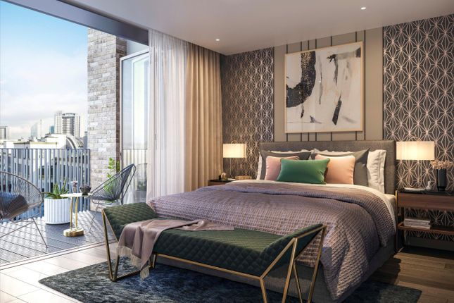Thumbnail Flat for sale in 26 Signature Place, Postmark, London