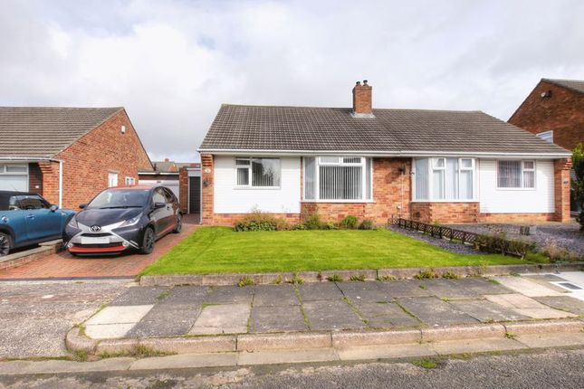 Thumbnail 2 bed semi-detached bungalow for sale in Abbotside Place, Chapel House, Newcastle Upon Tyne