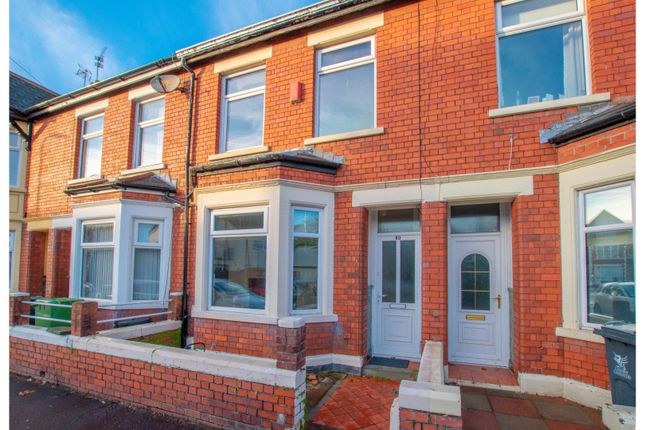 Thumbnail Terraced house for sale in Gelligaer Street, Cardiff