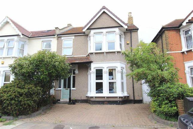 Thumbnail End terrace house for sale in Castleton Road, Goodmayes, Essex