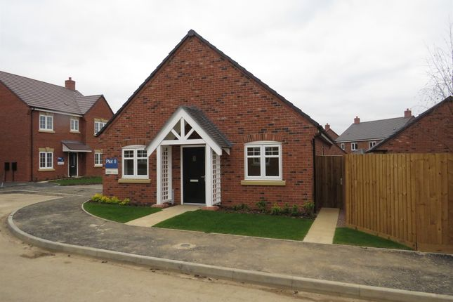 Thumbnail Detached bungalow for sale in Warwick Road, Kibworth