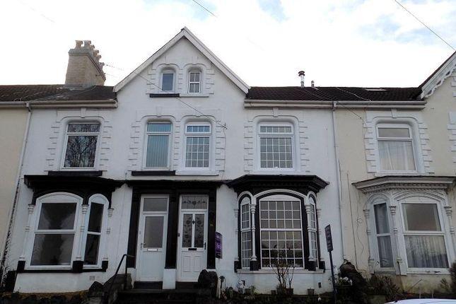 Thumbnail Terraced house for sale in Hillside, Neath, Neath Port Talbot.