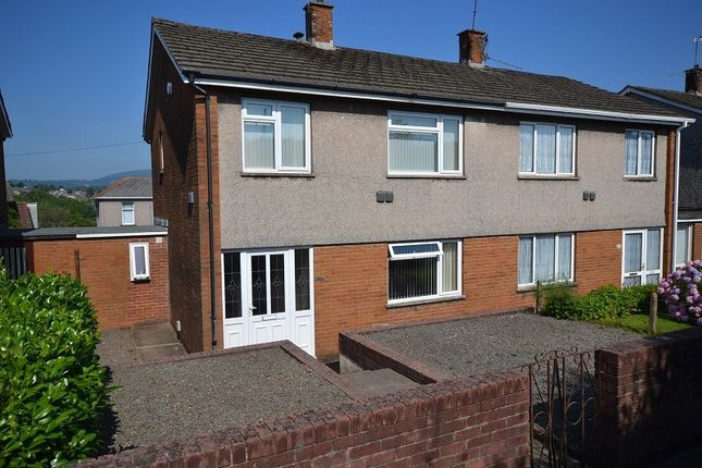 Thumbnail Semi-detached house to rent in Malpas Road, Newport